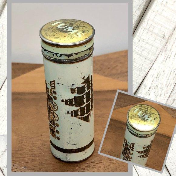 Vintage Other - Vntg Tums Travel Tin